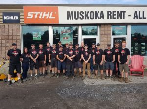 Muskoka Rent-All Team